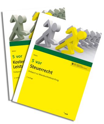 5 vor Bilanzbuchhalterprüfung (VO 2015) - Bücherpaket Klausur 3