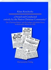 """""""Owned and Conducted entirely by the Native Christian Community"""""""