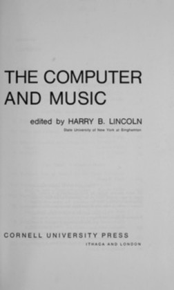 The Computer and Music