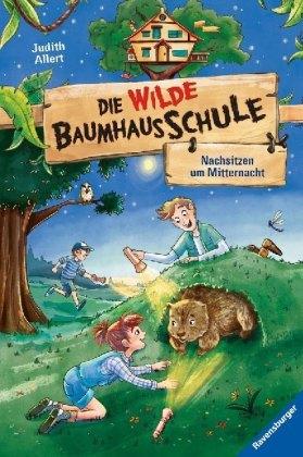 Die wilde Baumhausschule, Band 3: Nachsitzen um Mitternacht; .