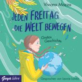 Jeden Freitag die Welt bewegen - Gretas Geschichte, 1 Audio-CD Cover
