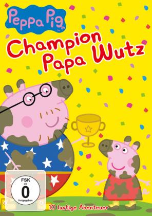 Peppa Pig - Champion Papa Wutz, 1 DVD
