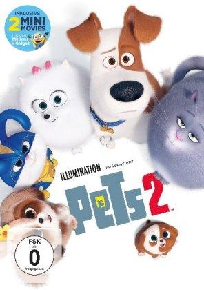 Pets 2, 1 DVD
