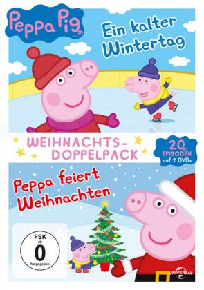 Peppa Pig Weihnachts-Doppelpack, 2 DVD