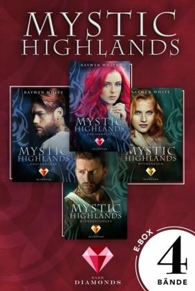 Mystic Highlands: Band 1-4 der Fantasy-Reihe im Sammelband
