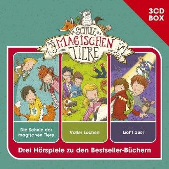 Die Schule der magischen Tiere - 3-CD Hörspielbox Vol. 1, 3 Audio-CDs