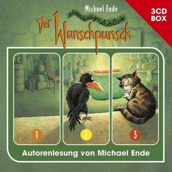 Der Wunschpunsch - 3-CD Hörspielbox, 3 Audio-CDs