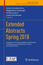 Extended Abstracts Spring 2018