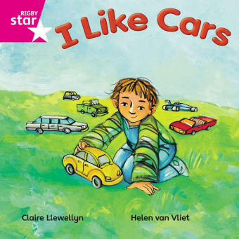 Rigby Star Independent Pink Reader 16 I Like Cars