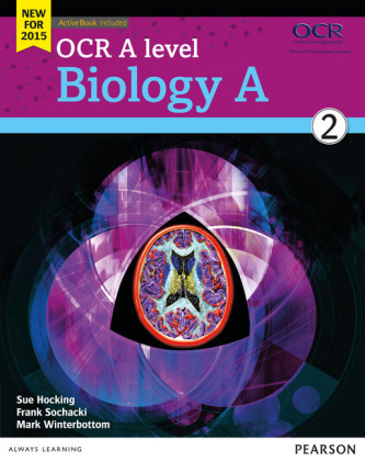 OCR A level Biology A Student Book 2 + ActiveBook, m. 1 Beilage, m. 1 Online-Zugang