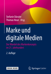 Marke und digitale Medien, m. 1 Buch, m. 1 E-Book
