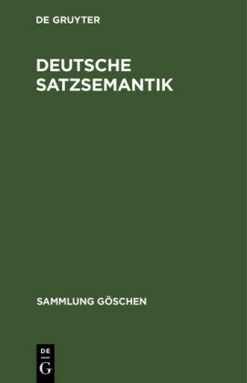 Deutsche Satzsemantik