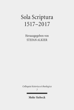 Sola Scriptura 1517-2017