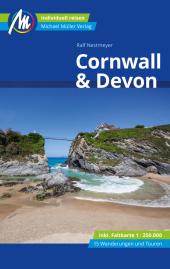 Cornwall & Devon Reiseführer Michael Müller Verlag, m. 1 Karte