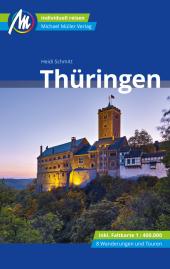 Thüringen Reiseführer Michael Müller Verlag, m. 1 Karte Cover