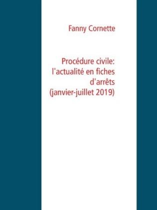 Procédure civile: l'actualité en fiches d'arrêts (janvier-juillet 2019)