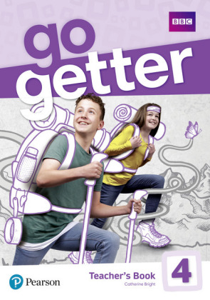 GoGetter 4 Teacher's Book with MyEnglishLab & Online Extra Homework + DVD-ROM Pack, m. 1 Beilage, m. 1 Online-Zugang