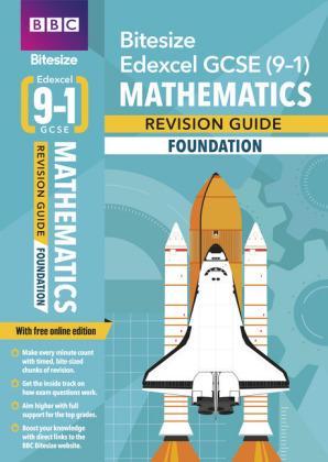 BBC Bitesize Edexcel GCSE (9-1) Maths Foundation Revision Guide, m. 1 Beilage, m. 1 Online-Zugang