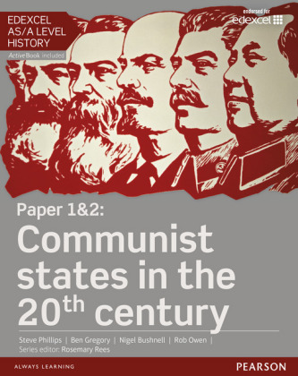 Edexcel AS/A Level History, Paper 1&2: Communist states in the 20th century Student Book + ActiveBook, m. 1 Beilage, m.