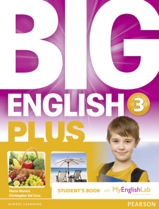 Big English Plus American Edition 3 Students' Book with MyEnglishLab Access Code Pack New Edition, m. 1 Beilage, m. 1 On