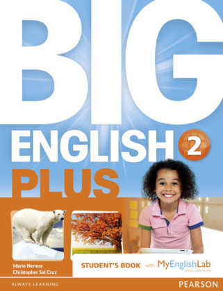Big English Plus American Edition 2 Students' Book with MyEnglishLab Access Code Pack New Edition, m. 1 Beilage, m. 1 On