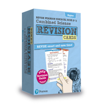 Revise Edexcel GCSE (9-1) Combined Science: Trilogy Higher Revision Cards, m. 1 Beilage, m. 1 Online-Zugang