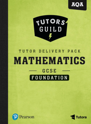 Tutors' Guild GCSE AQA Maths Foundation Tutor Delivery Pack, m. 1 Beilage, m. 1 Online-Zugang