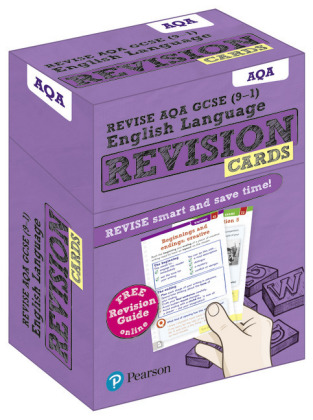 Revise AQA GCSE (9-1) English Language Revision Cards, m. 1 Beilage, m. 1 Online-Zugang