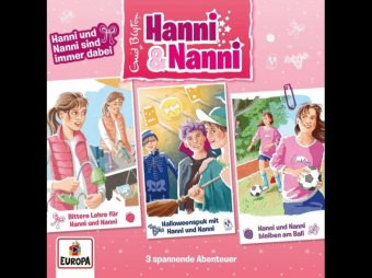 Hanni und Nanni 3er Box - Hanni und Nanni sind immer dabei, 3 Audio-CDs