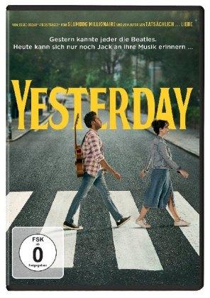 Yesterday, 1 DVD