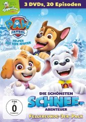Paw Patrol - Die schönsten Schnee-Abenteuer, 3 DVD