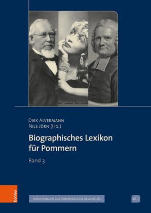 Biographisches Lexikon für Pommern
