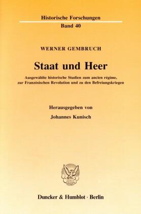 Staat und Heer.