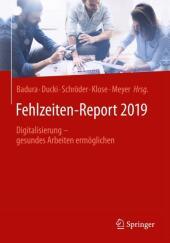 Fehlzeiten-Report 2019