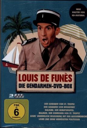 Louis de Funès - Die Gendarmen-DVD-Box, 3 DVD