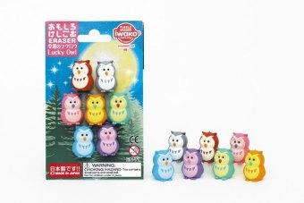 Puzzle Radiergummi Lucky Owls