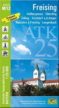 ATK25-M12 Freising (Amtliche Topographische Karte 1:25000)