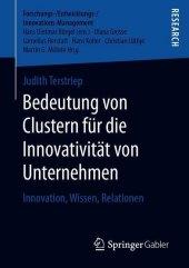 Bedeutung von Clustern für die Innovativität von Unternehmen