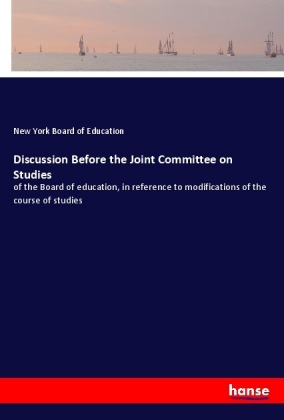 Discussion Before the Joint Committee on Studies