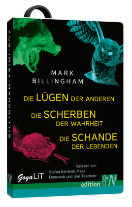 Die Billingham-Krimi-Box, USB-Stick