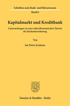 Kapitalmarkt und Kreditbank.