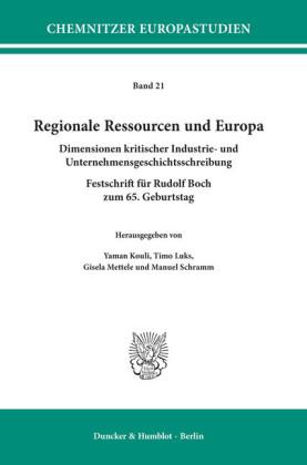 Regionale Ressourcen und Europa.