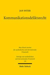 Kommunikationsdeliktsrecht
