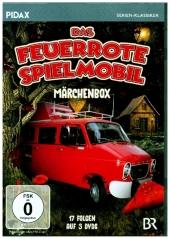 Das feuerrote Spielmobil - Märchenbox, 3 DVD