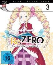 Re:ZERO - Starting Life in Another World - Blu-ray 3, 1 Blu-ray