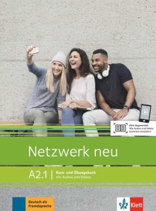 Kurs- und Übungsbuch mit Audios und Videos, A2.1