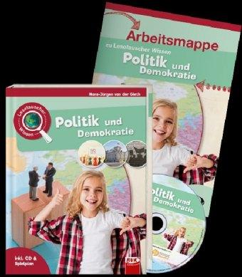 Leselauscher Wissen - Politik und Demokratie, Set, m. Audio-CD