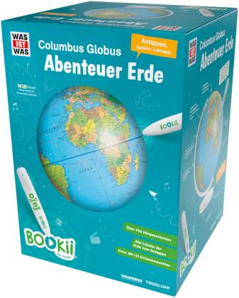 """BOOKii WAS IST WAS Columbus Globus """"Abenteuer Erde"""""""