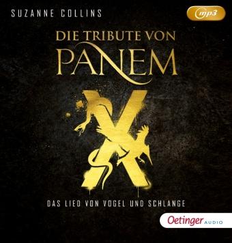 Die Tribute von Panem - Untitled Novel, 2 Audio-CD, MP3