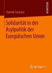 Solidarität in der Asylpolitik der Europäischen Union